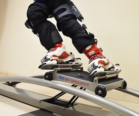 Xnowers (Levier) ski and snowboard exoskeleton